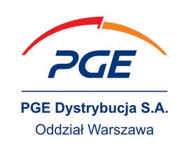 Logo firmy PGE Dystrybucja S.A.