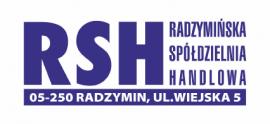 Logo firmy RSH Radzymińska Spółdzielnia Handlowa
